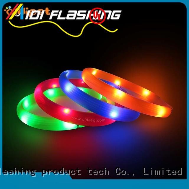 collars flashing dog collar light factory for outdoors AIDI