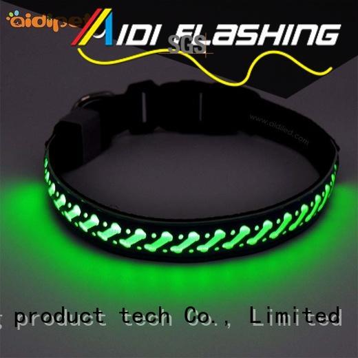 led light for dog collar at light up dog collar logo company