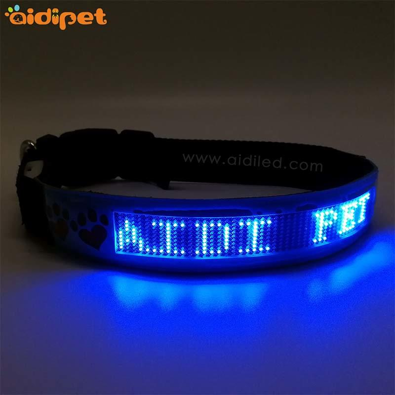 Bluetooth remote controlled Led pet dog collar(World verison) AIDI-C24