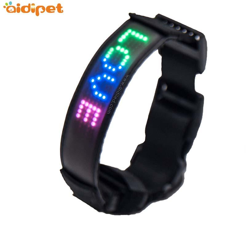 Led APP Controlled Safety dog collars AIDI-C25