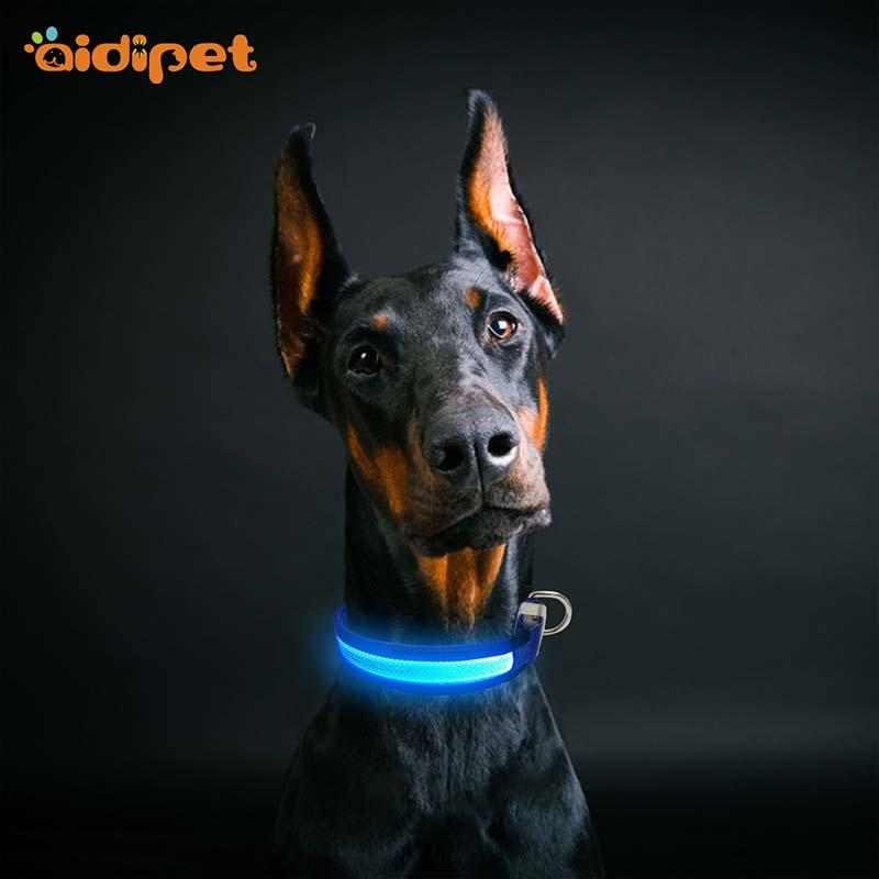silicone illusion dog collar design for park