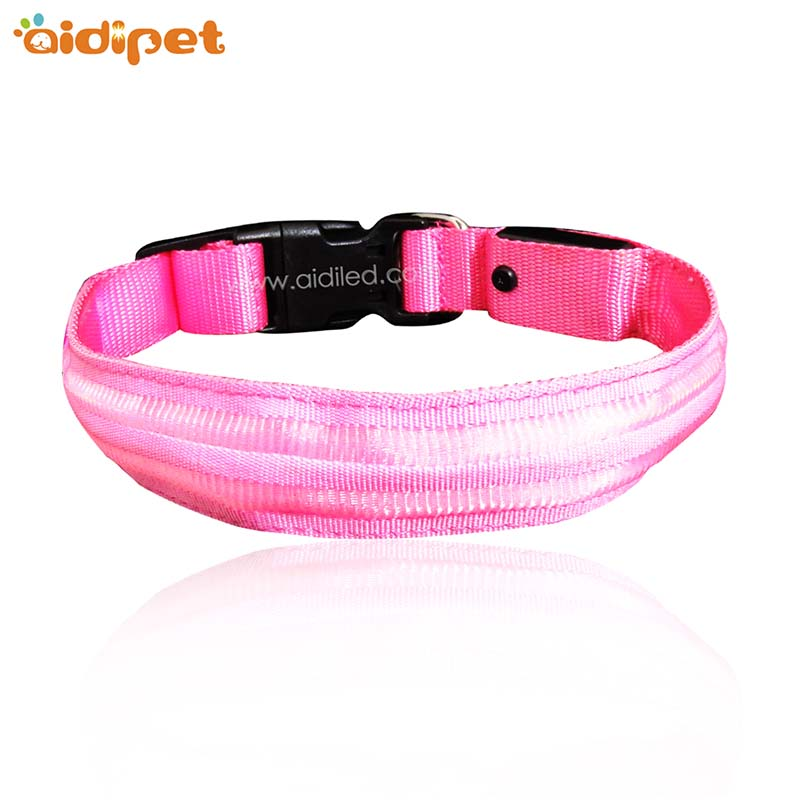 AIDI-AIDI-C16 Custom Super Bright LED Light Up Dog Collar-1