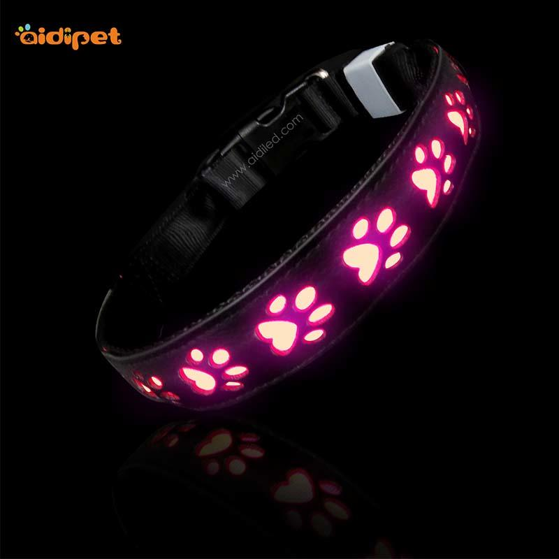 AIDI-C20 Wholesale Pet Dog Led Collar