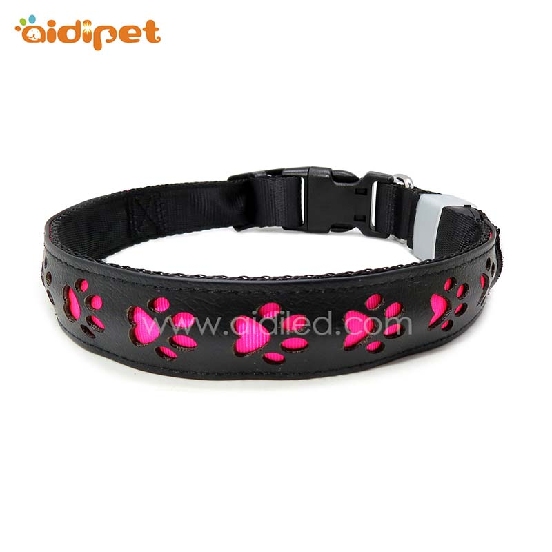 AIDI glowing reflective dog collars design for walking-AIDI-img-1