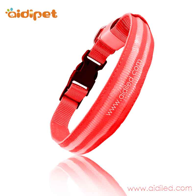 AIDI-led dog safety collar ,safety glow dog collar | AIDI-2