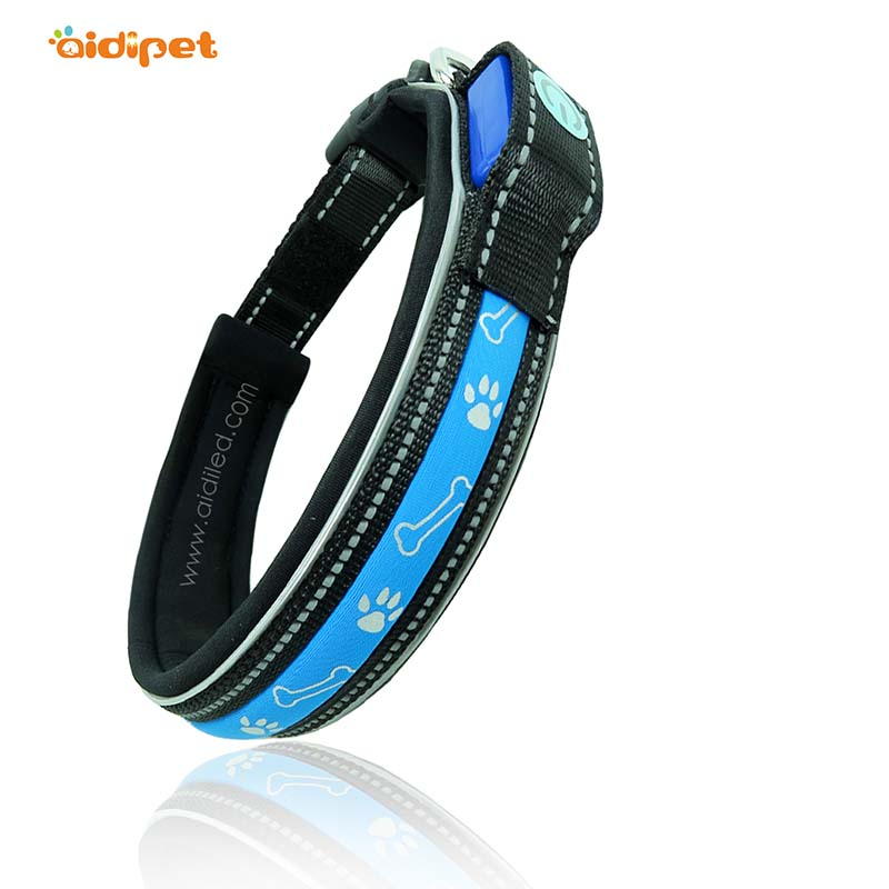 AIDI-lite up dog collars | Led dog collars | AIDI