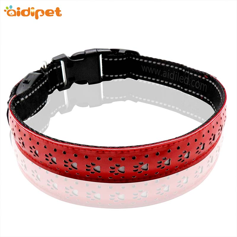AIDI-Rechargeable Led Dog Collar, Aidi-c14 Personalized Rechargeable Flashing-1