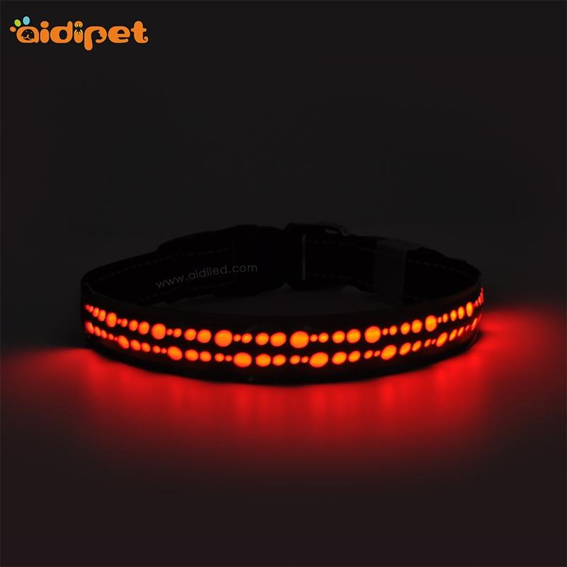 AIDI-C14 Rechargeable Flashing Led Dog Collar