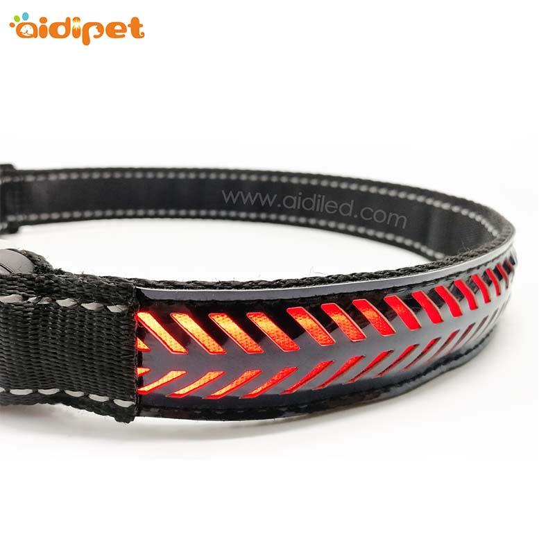 AIDI-AIDI-C14 Rechargeable Flashing Led Dog Collar Safety Light-1