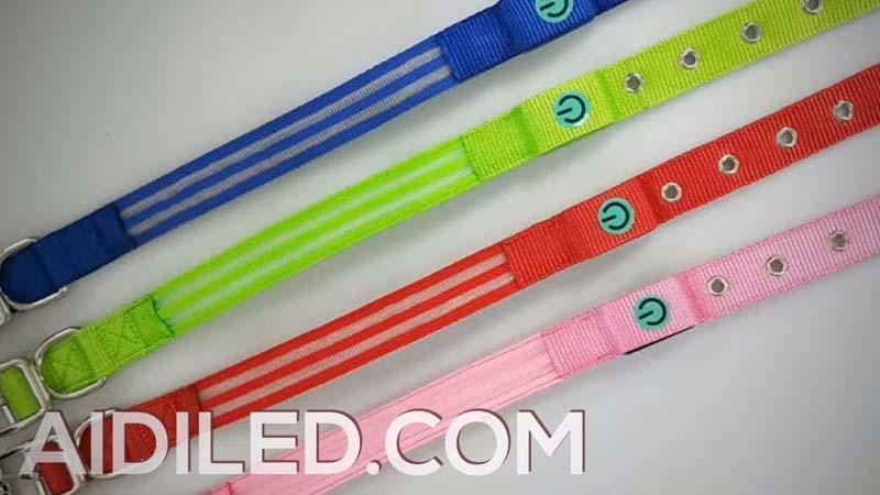 AIDI-C17 Usb Led Dog Collar  video