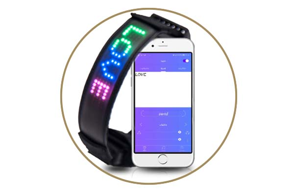 - Led App Controlled Safety Dog Collars Aidi-c25-4