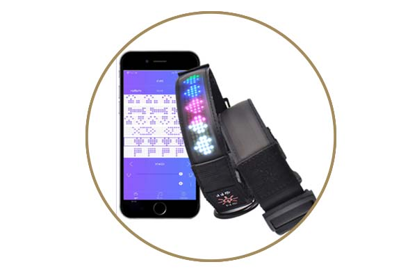 - Led App Controlled Safety Dog Collars Aidi-c25-5