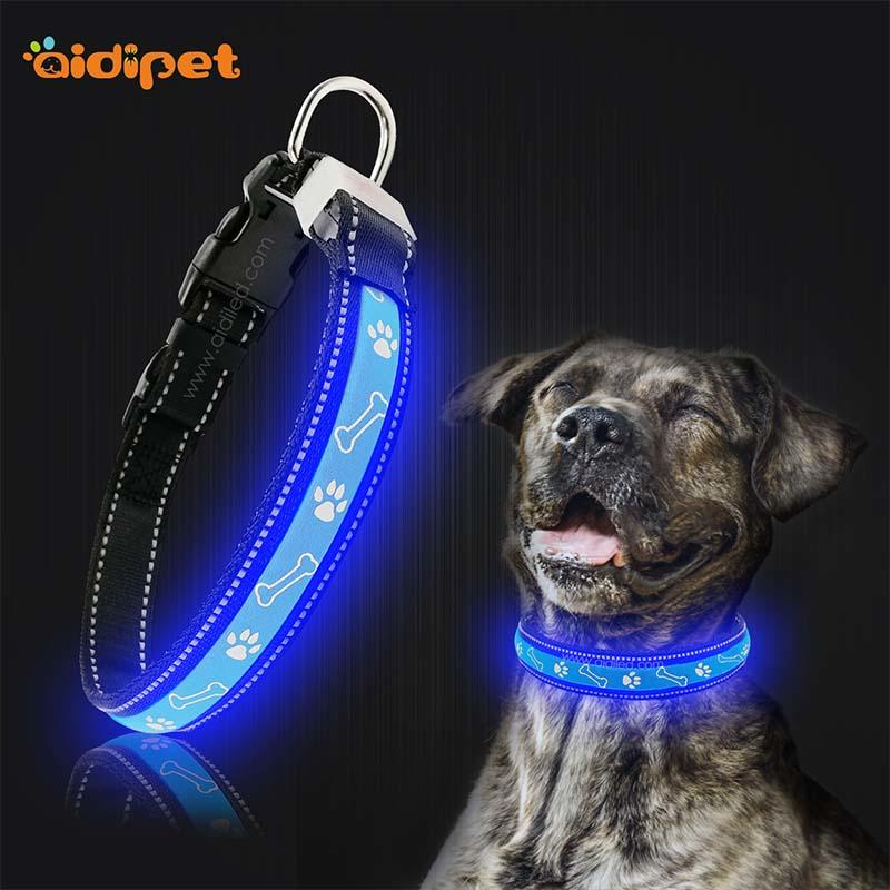 led light for dog collar led light up dog collar waterproof company