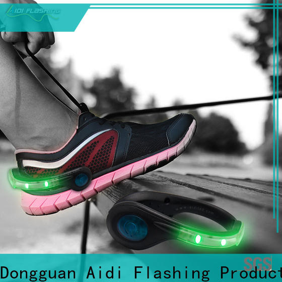 AIDI orange led shoe clip inquire now for adults