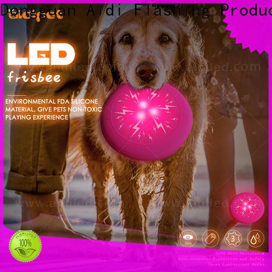 AIDI led flashing outdoor dog toys factory for dog