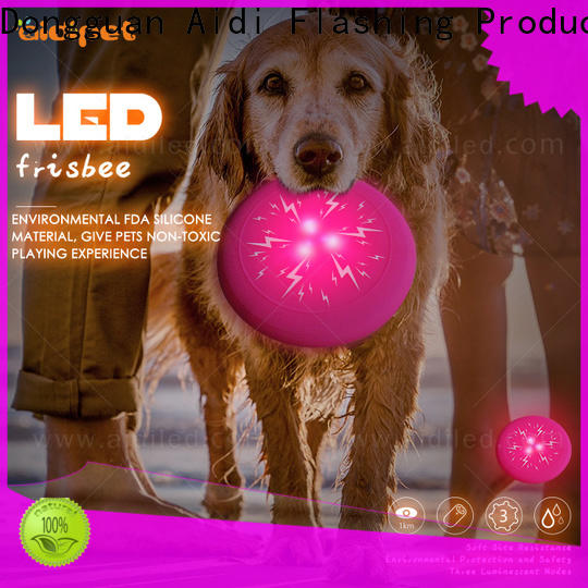 AIDI led flashing outdoor dog toys factory for dog