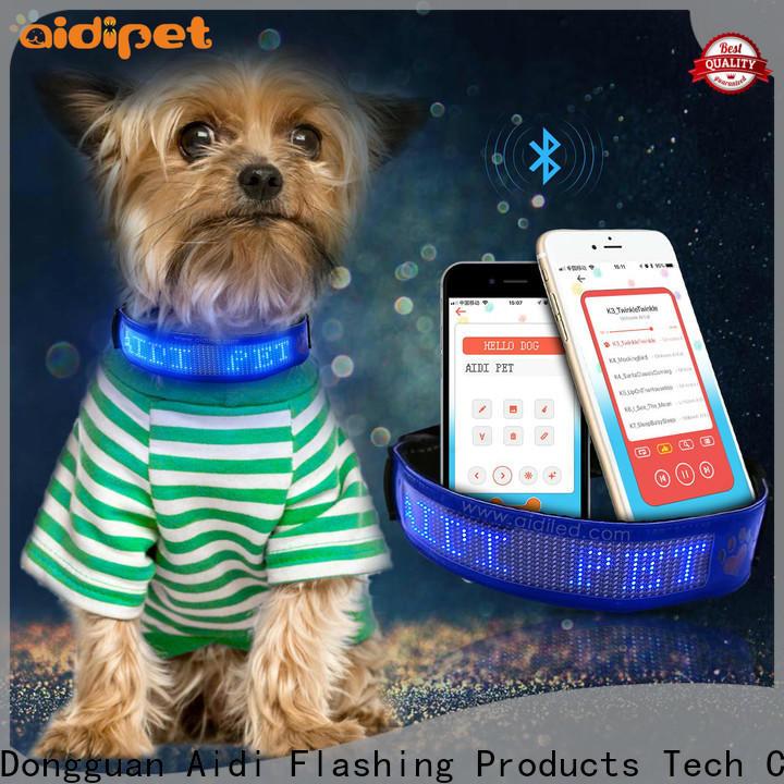 durable led collar light factory for walking
