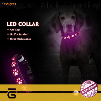 AIDI led light up dog collar inquire now for walking
