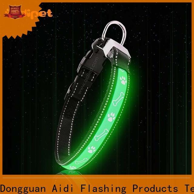 AIDI light up dog collar factory for park