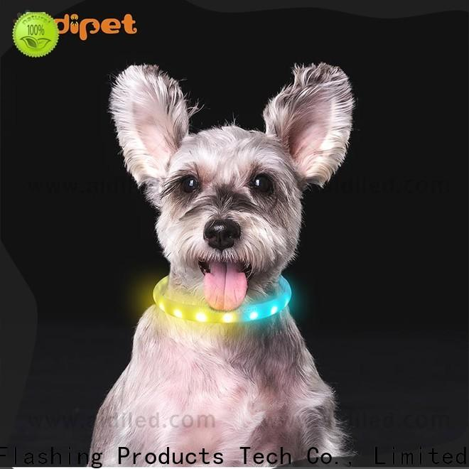 AIDI silicone led safety collar light inquire now for walking