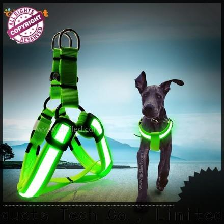 AIDI reflective glow in the dark dog harness directly sale for pet