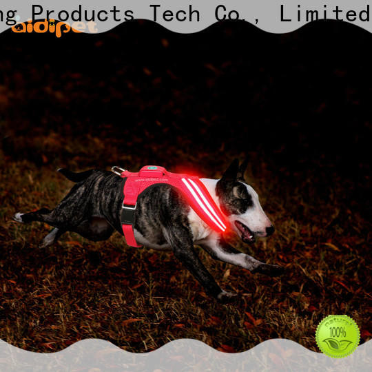 soft glowing dog collar manufacturer for park