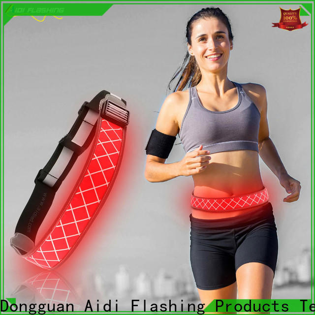 air permeable jogging waist belt customized for woman