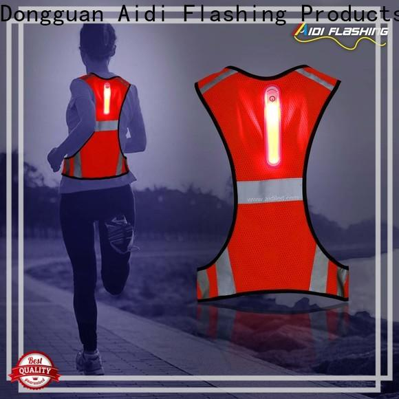 AIDI high visibility vest series for sports