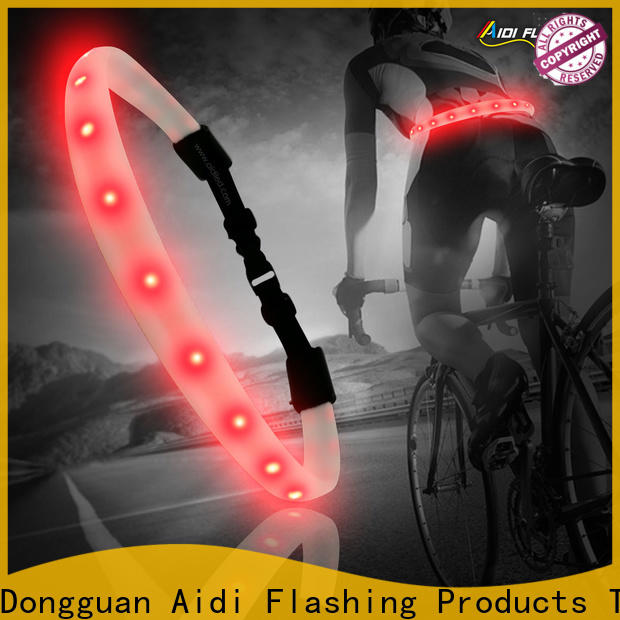 hot pressing led waist belt from China for sports