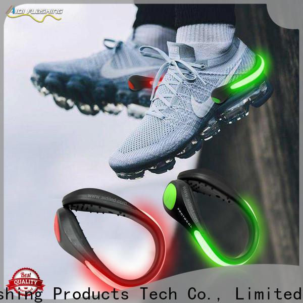 orange led shoe clip lights factory for children