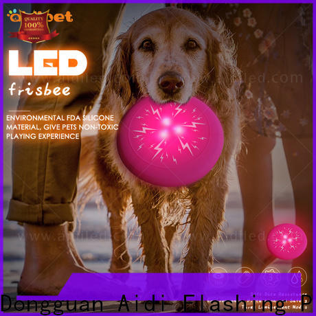 led flashing large dog toys factory for dog