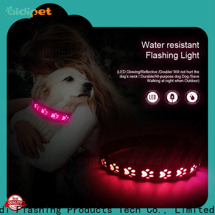 waterproof led pet collar light inquire now for walking