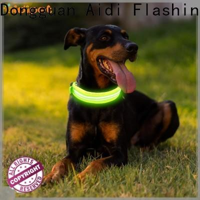 AIDI rechargeable lighted dog collars inquire now for pet
