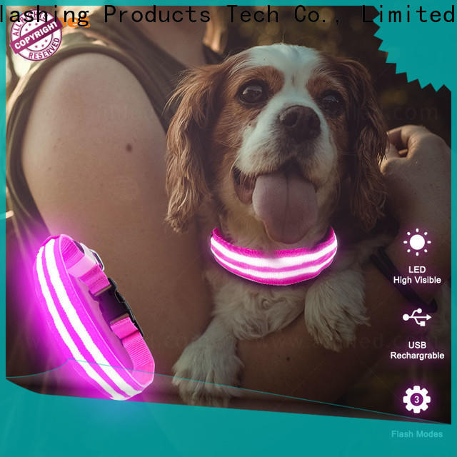 AIDI led dog collar design for walking