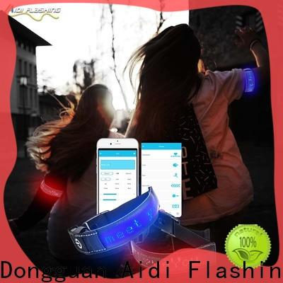 AIDI bluetooth led arm band manufacturer for woman