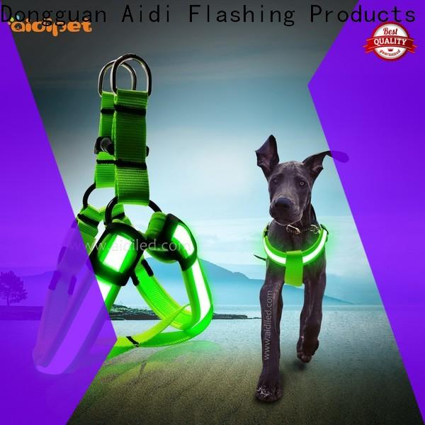 nylon led dog harness from China for outdoors