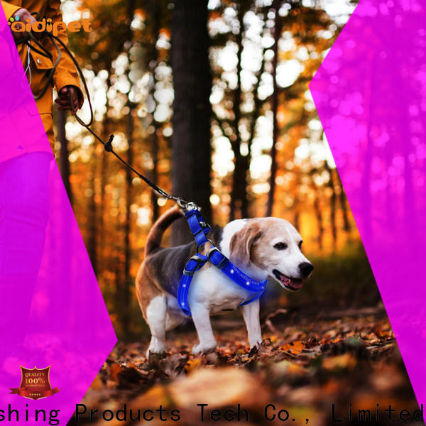 AIDI lighted dog harness directly sale for street