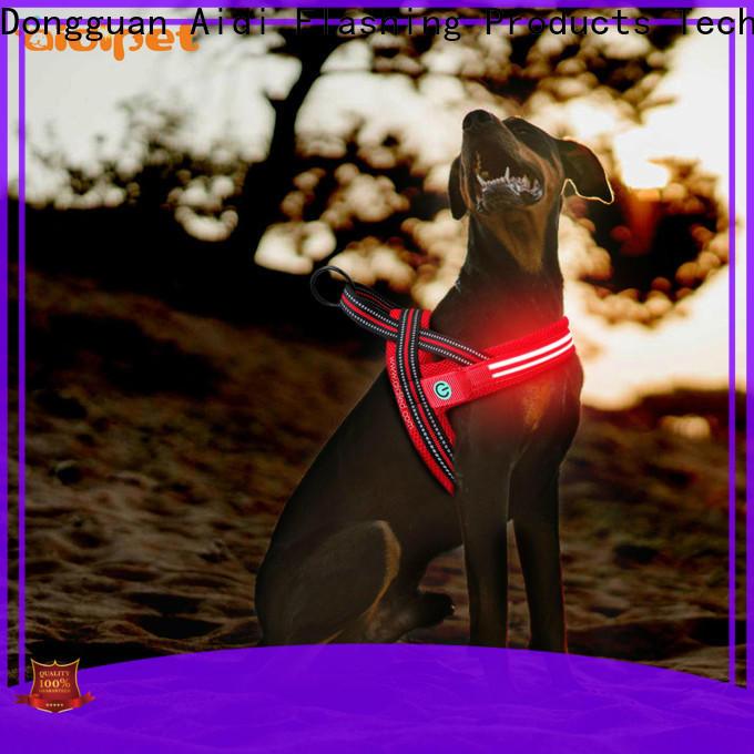 AIDI nylon reflective dog harness customized for street