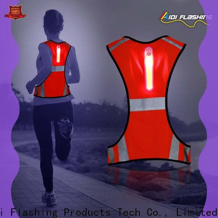 durable led vest directly sale for woman