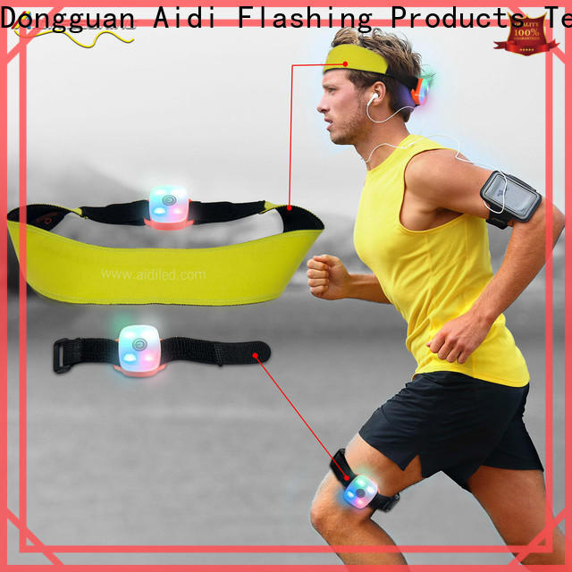 AIDI glow in the dark sweatband wholesale for man