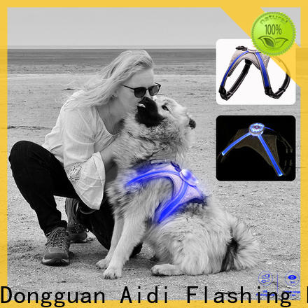 AIDI led dog harness series for outdoors