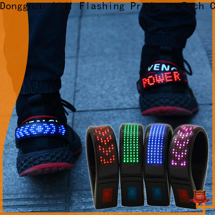 AIDI professional night runner led shoe clip inquire now for kids