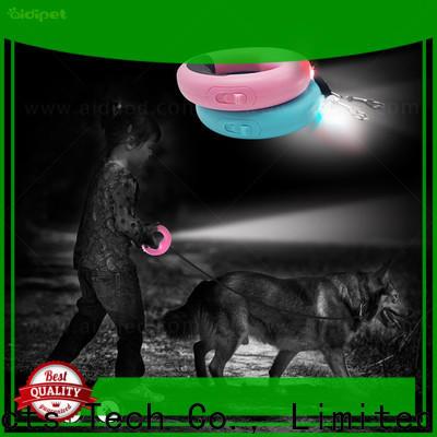 nylon glow in the dark dog leash design for park