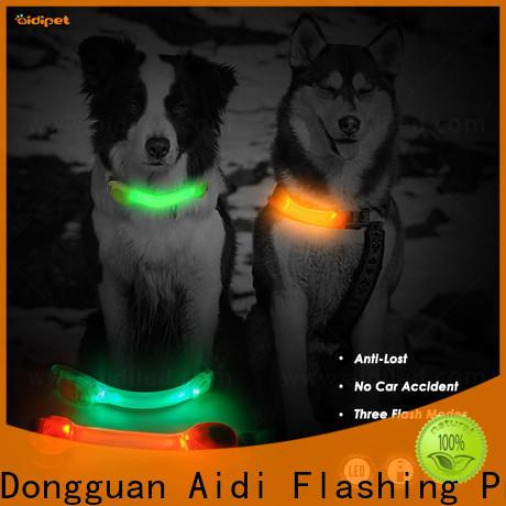 AIDI silicone dog collar accessory factory price for