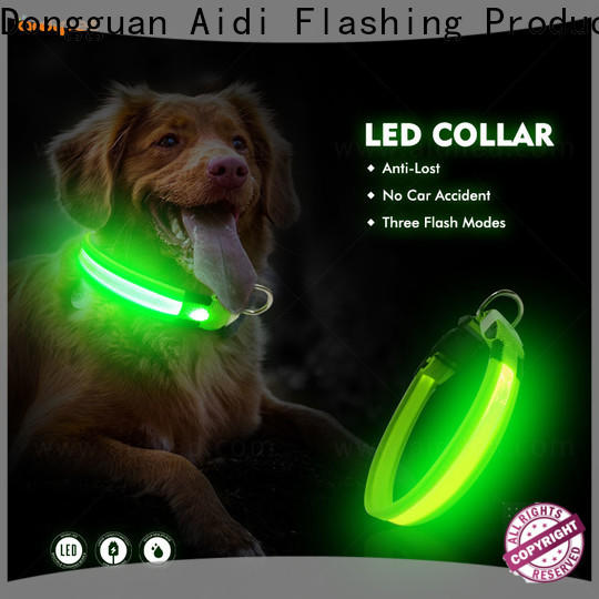 AIDI lighted dog collars factory for outdoors