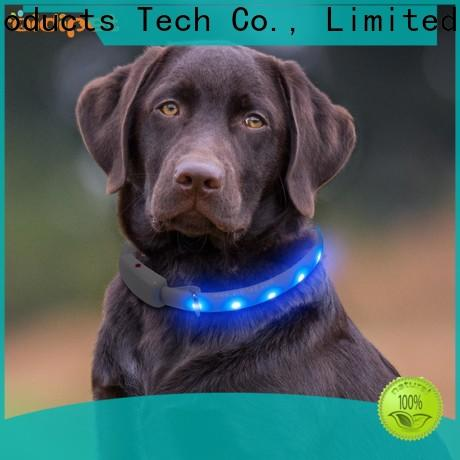 AIDI pet collar light factory for walking