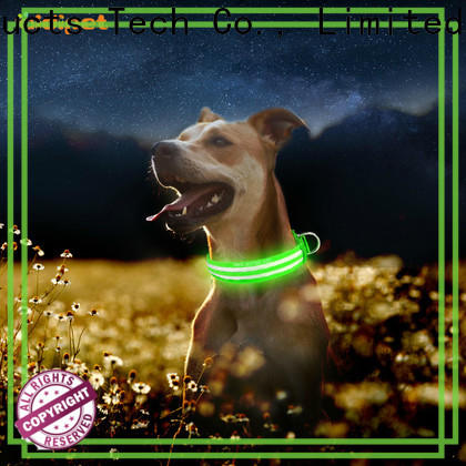 reflective dog collar light factory for pet
