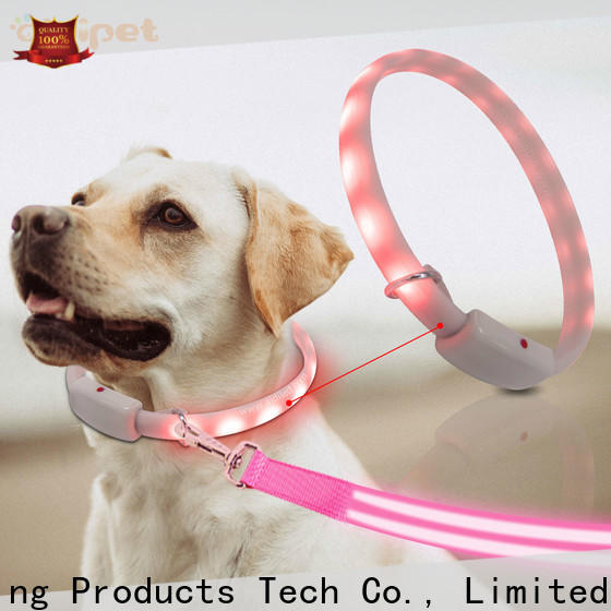 AIDI lighted dog collars and leashes design for walking