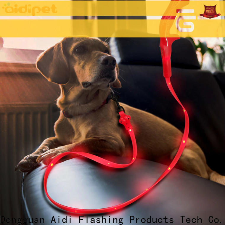 reflective lighted dog leash factory for pet