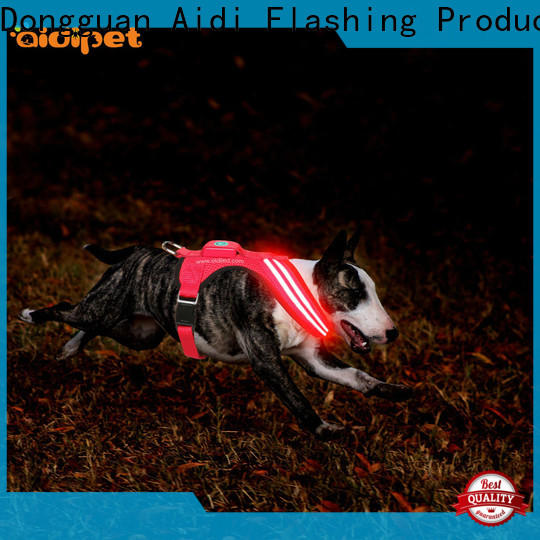AIDI illuminated dog harness customized for outdoors
